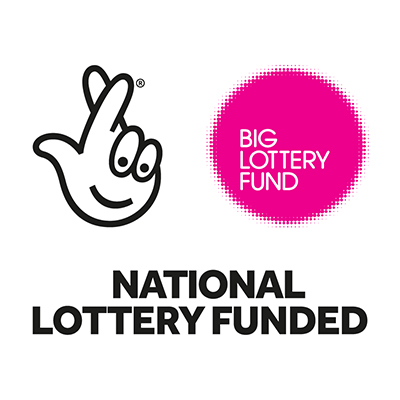 the big lottery fund also funds this site